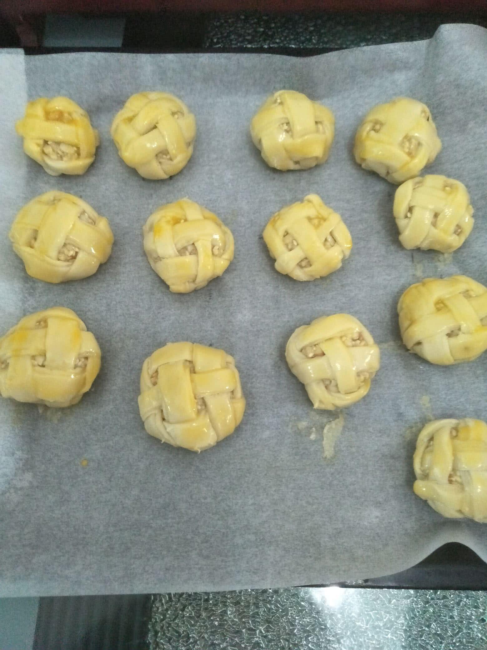 绣球酥#中式点心开启你的回忆#的做法图解25