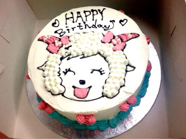 卡通生日蛋糕的做法图解4