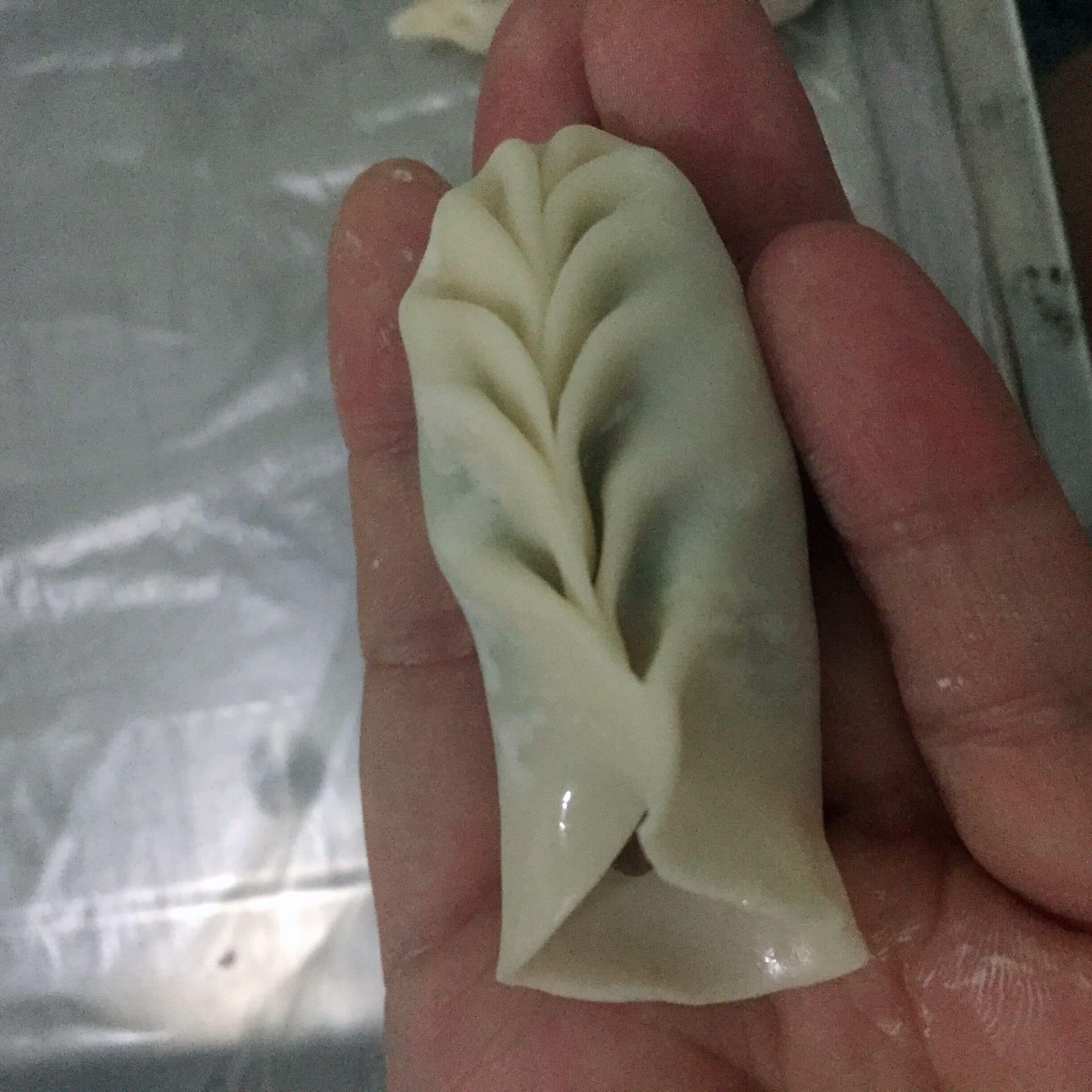 柳叶饺子(沙县老鼠蒸饺)的做法图解6