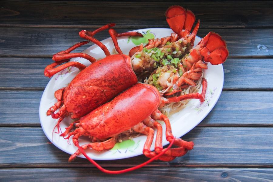 蒜蓉粉丝蒸龙虾的做法_【图解】蒜蓉粉丝蒸龙虾怎么做
