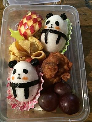 菜谱爱心熊猫饭团便当 的所有评论