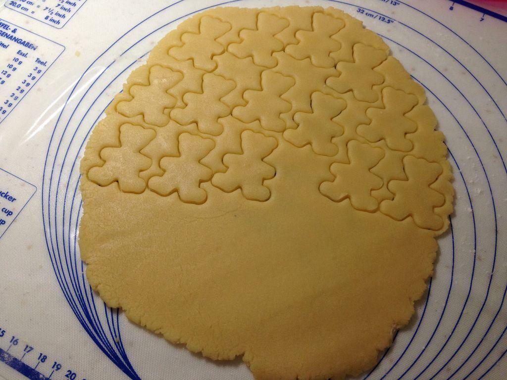 小熊饼干的做法步骤