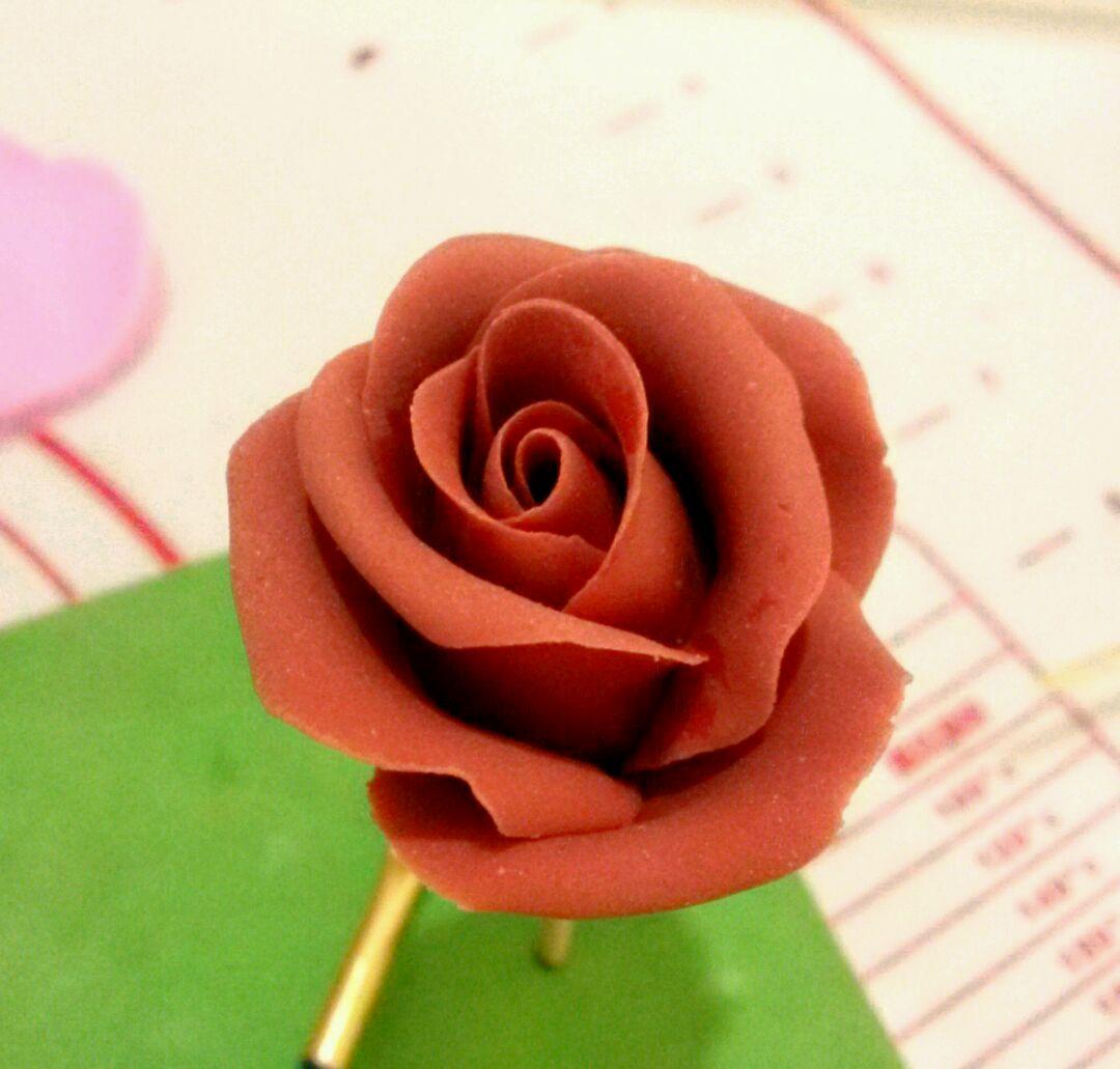 翻糖玫瑰花的做法图解13