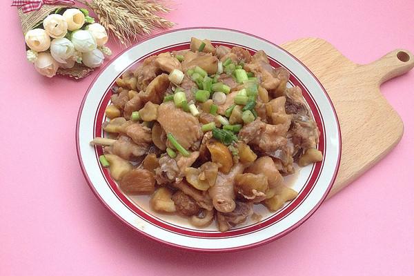 栗子炆鸡#金龙鱼外婆乡小榨菜籽油 最强家乡菜#的做法