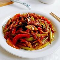 蒜豉酱香芹菜肉