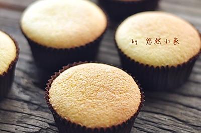 #美的名流烤箱#海绵杯子蛋糕