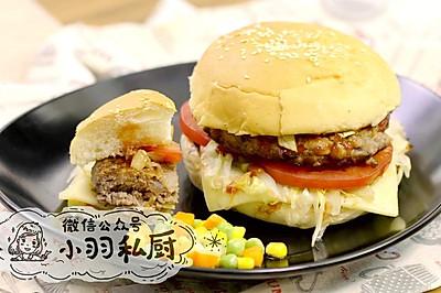 美式牛肉汉堡,一定要加这个料才对味儿。