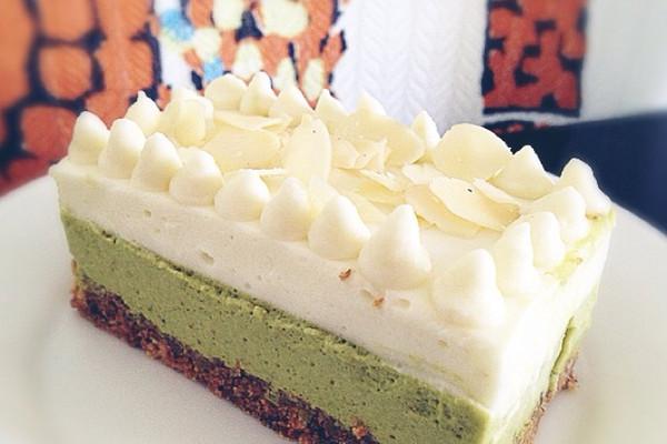 抹茶酸奶铆钉蛋糕的做法