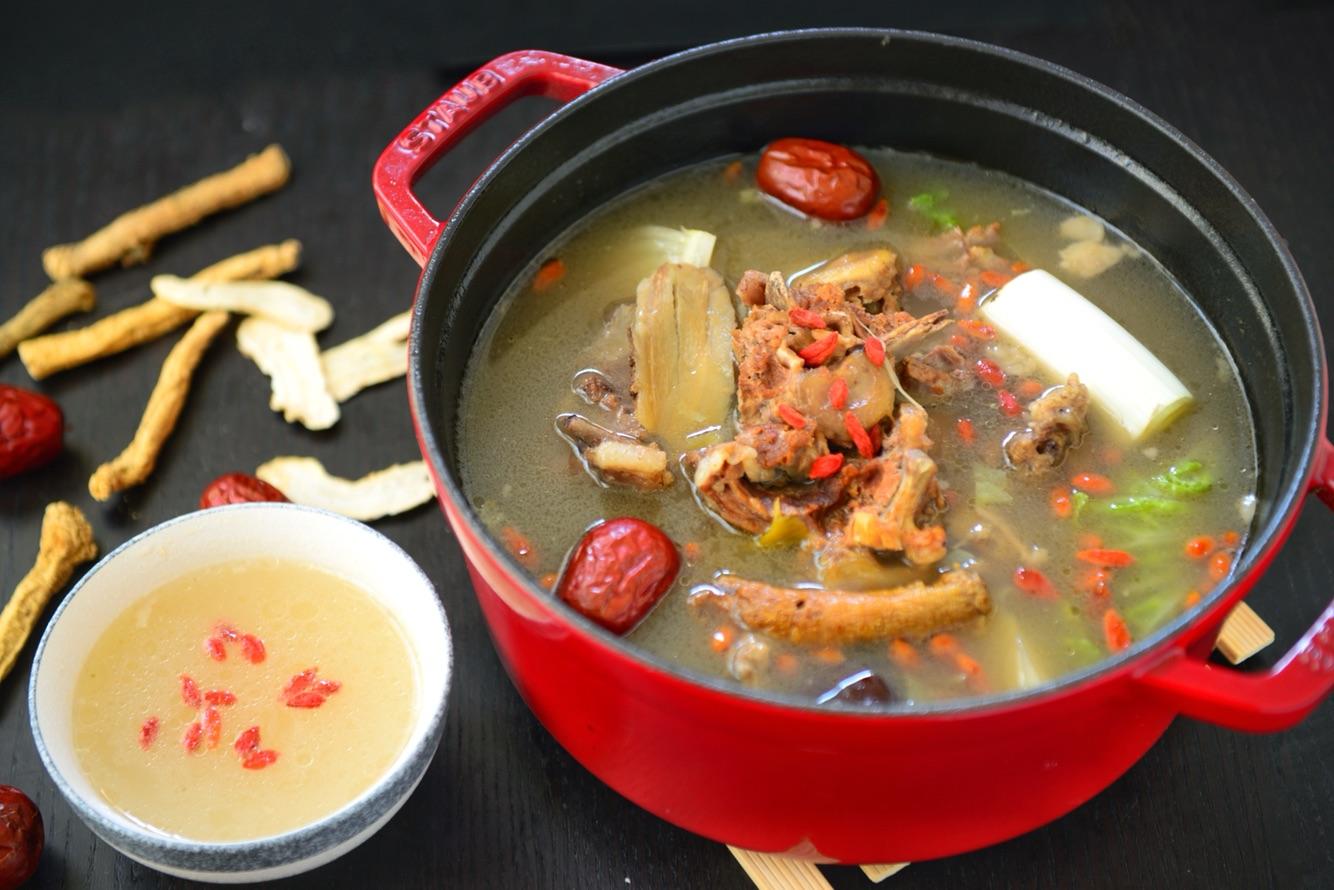 白汤之王-v白汤魔芋羊湿气火锅补钙重吃蝎子图片