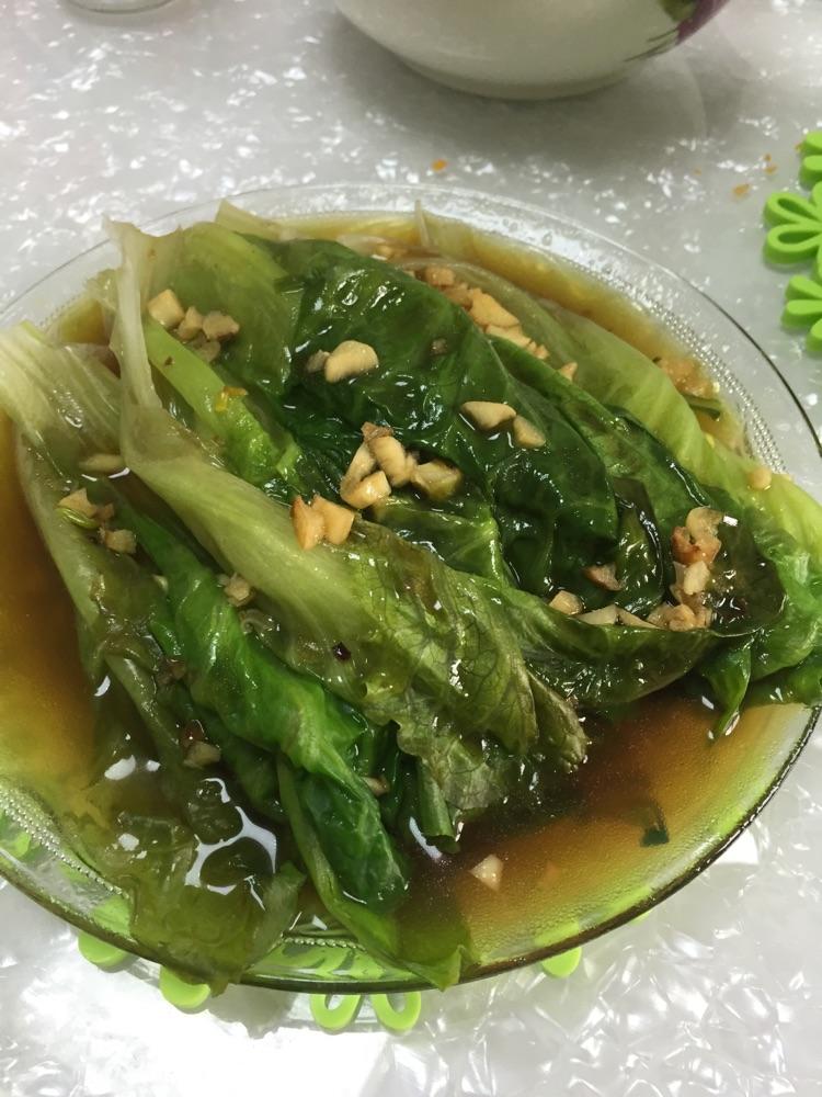 主料 2颗 蚝油2勺 生抽1勺 适量 盐适量 蚝油生菜的做法步骤 分类
