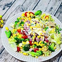 低脂双味田园蔬菜沙拉#春天不减肥,夏天肉堆堆#