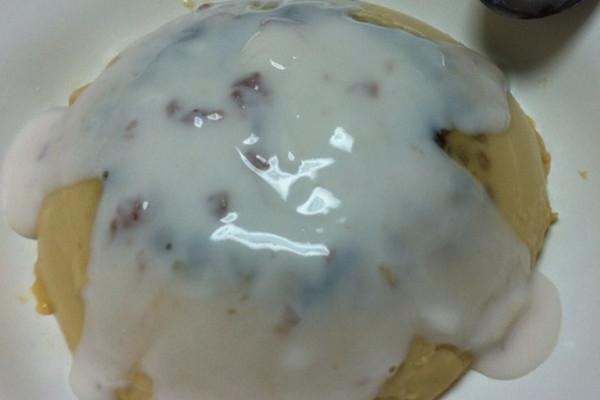 蜜豆鸡蛋牛奶布丁的做法