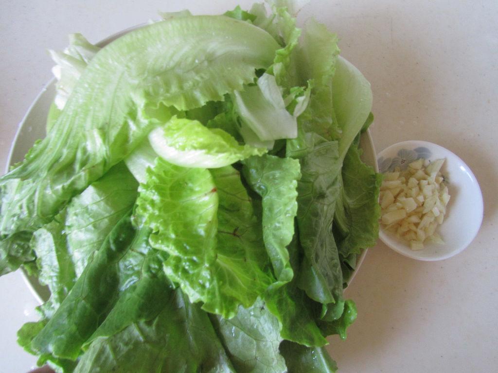 蒜蓉生菜的做法步骤