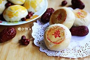 平底锅做月饼【枣泥酥皮月饼】附:便宜纯粹枣泥馅【图像】