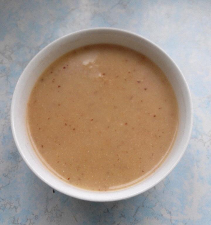 红枣核桃米汁的做法步骤