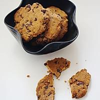 海盐巧克力曲奇饼干【有大量巧克力的饼干才好吃】
