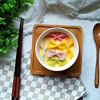 虾味五彩蒸蛋羹