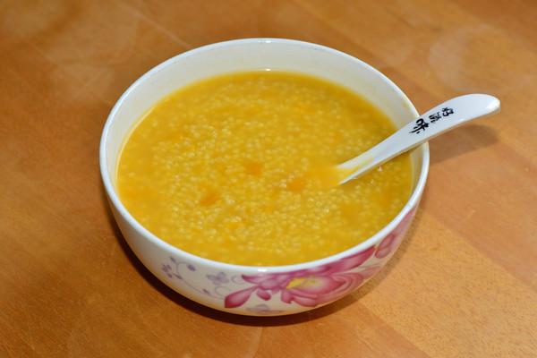 小米南瓜粥的做法