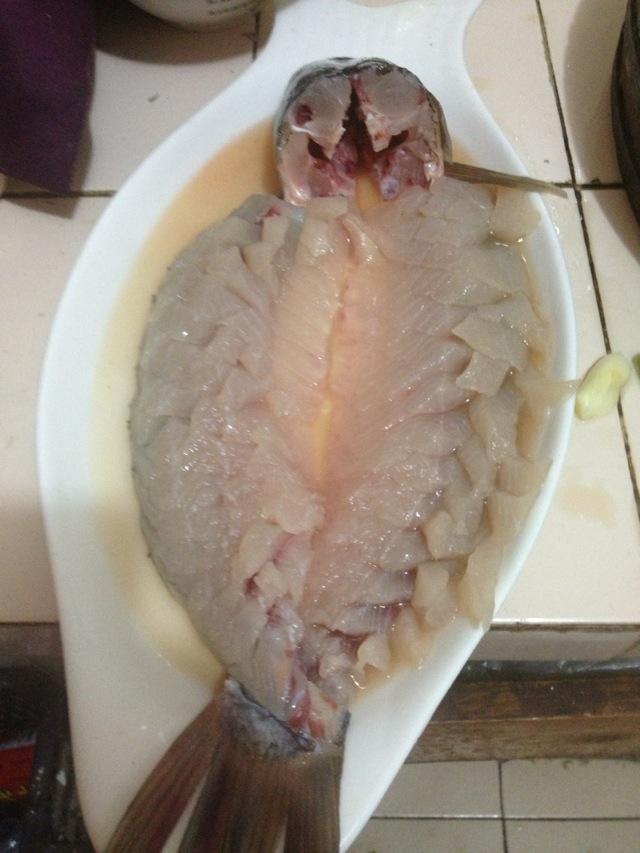 鱼怎么改刀好看图解_