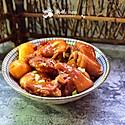 香辣土豆焖猪蹄#厨此之外,锦享美味#