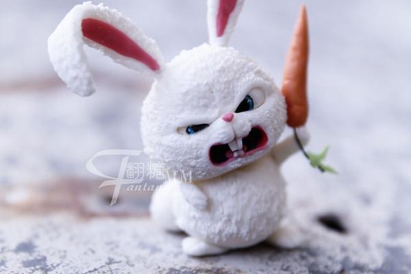 """""""这是电影爱宠大机密的超级反派兔子雪球."""