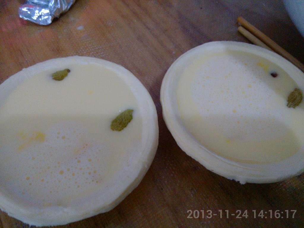 葡萄干蛋挞的做法图解2