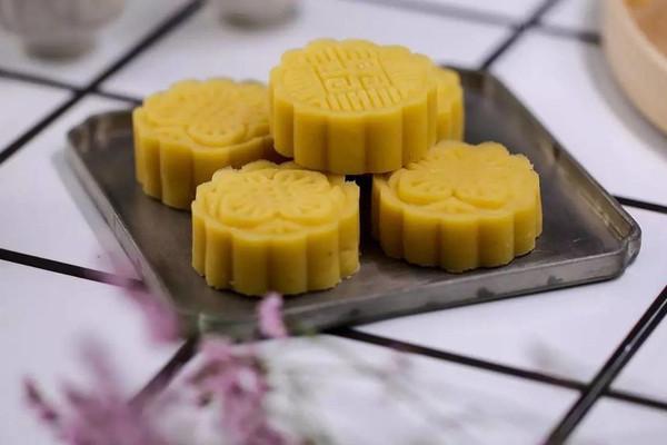 绿豆糕:清香又消暑!的做法