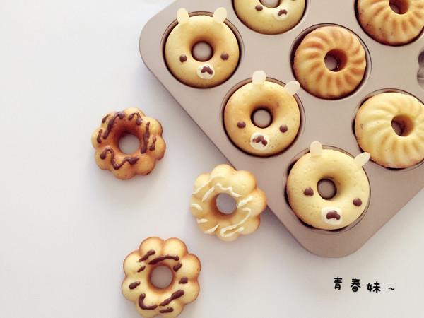 肉松甜甜圈蛋糕