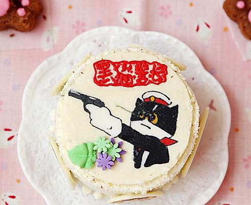 大象手绘蛋糕图片大全