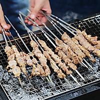 地道的新疆风味羊肉串
