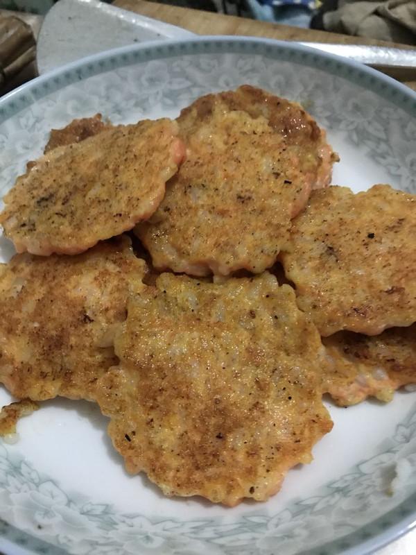 鲜虾杂蔬饼