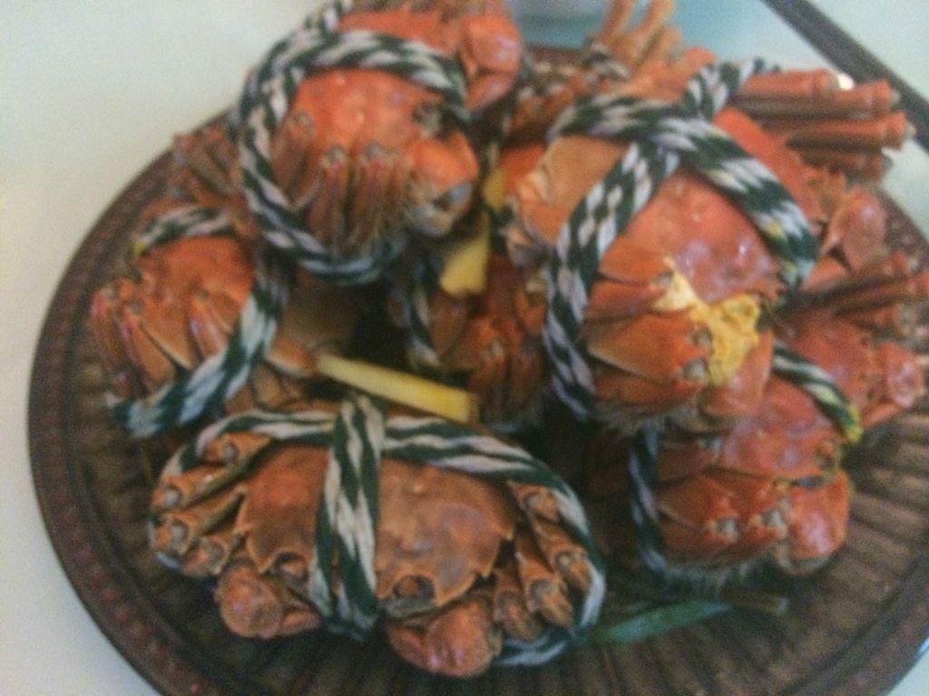 蒸螃蟹的做法_【图解】蒸螃蟹怎么做如何做好吃_蒸_瑶