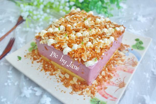桑葚蓝莓慕斯蛋糕#相约MOF#的做法