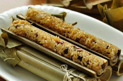 竹筒粽子的做法步骤