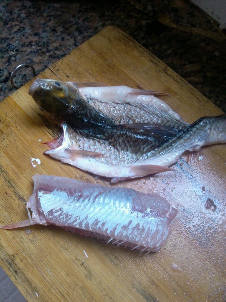 私房让鲮鱼的做法图解3