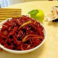 素炒青椒红菜头的美食故事