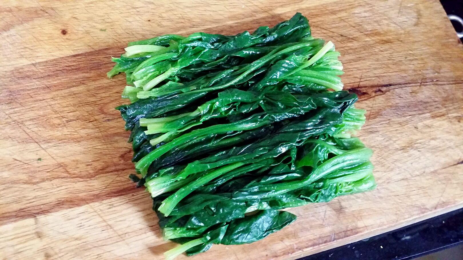 芝麻菠菜的做法步骤