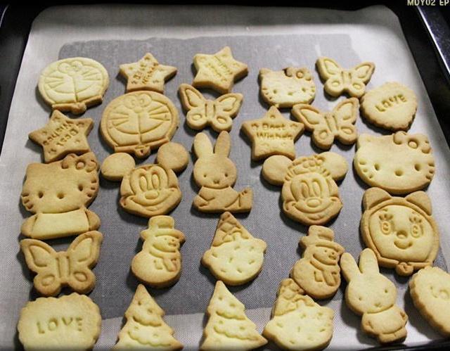 动物小饼干的做法_【图解】动物小饼干怎么做如何做