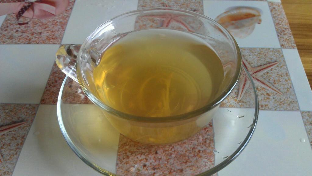 金银花蜂蜜水