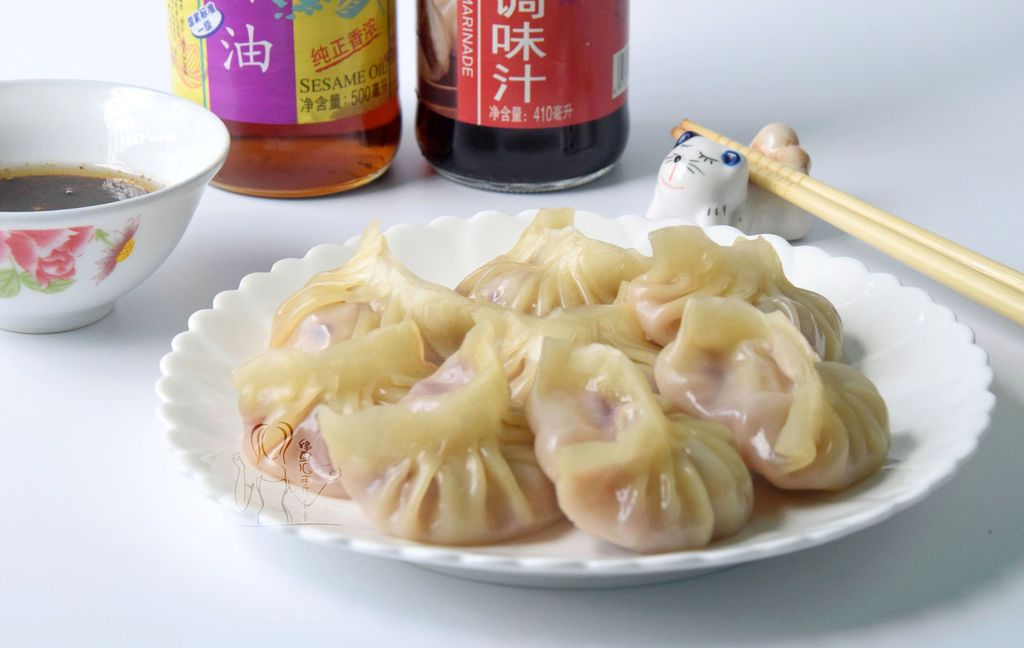 白菜紫甘蓝猪肉饺子的做法_【图解】白菜紫甘蓝猪肉做