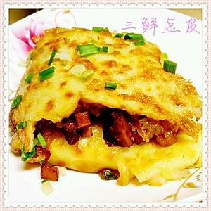 艳阳满天的武汉三鲜豆皮的做法的评论 怎么样 第1页 豆果美食