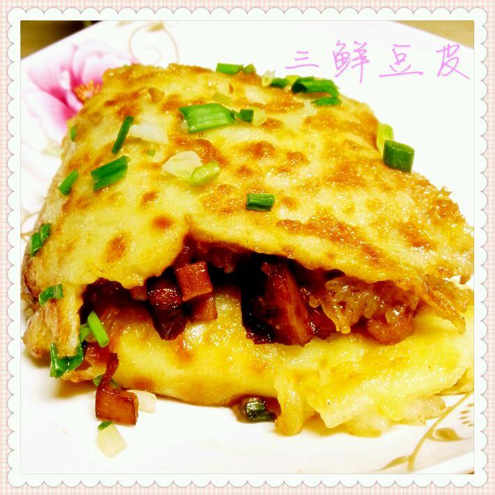 武汉三鲜豆皮