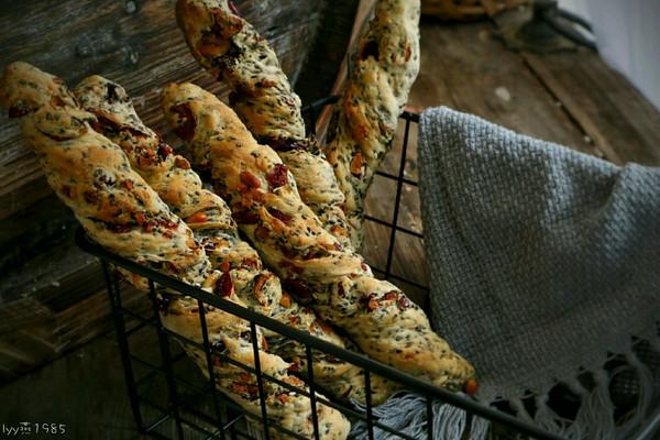 法式坚果面包棒的做法