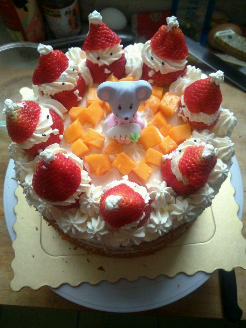 圣诞老人生日蛋糕