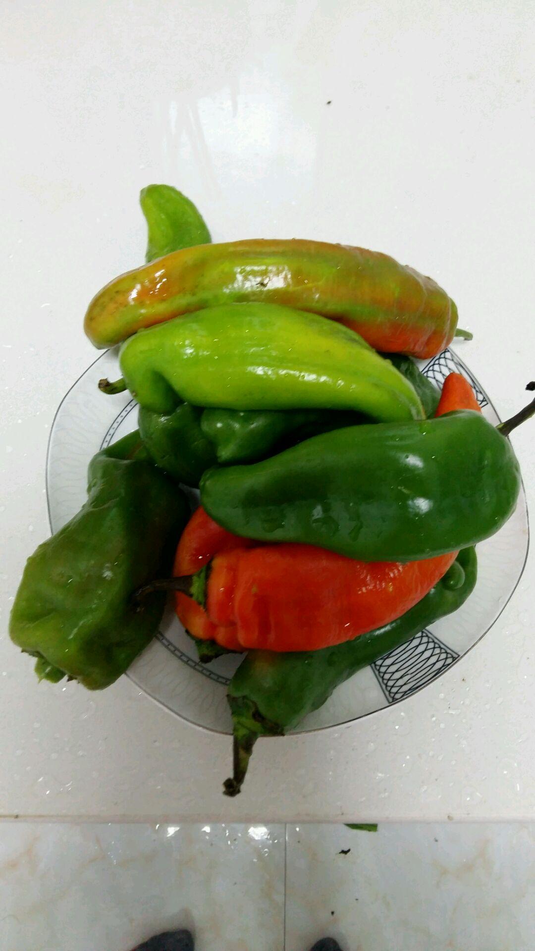 油辣椒咸菜的做法步骤