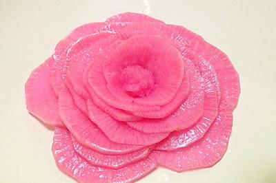 酸甜粉玫瑰