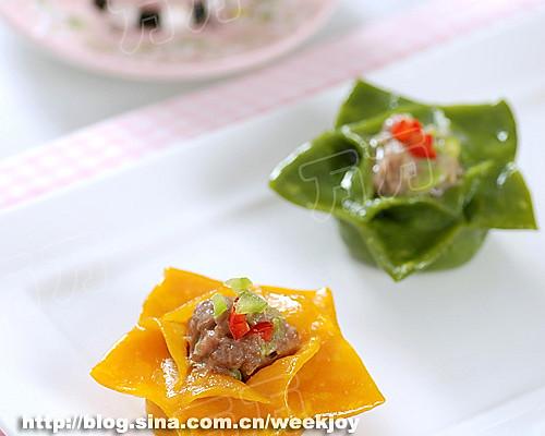 花式蒸饺的做法