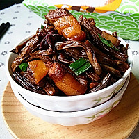 幹豆角烧肉 #给老爸做道菜#