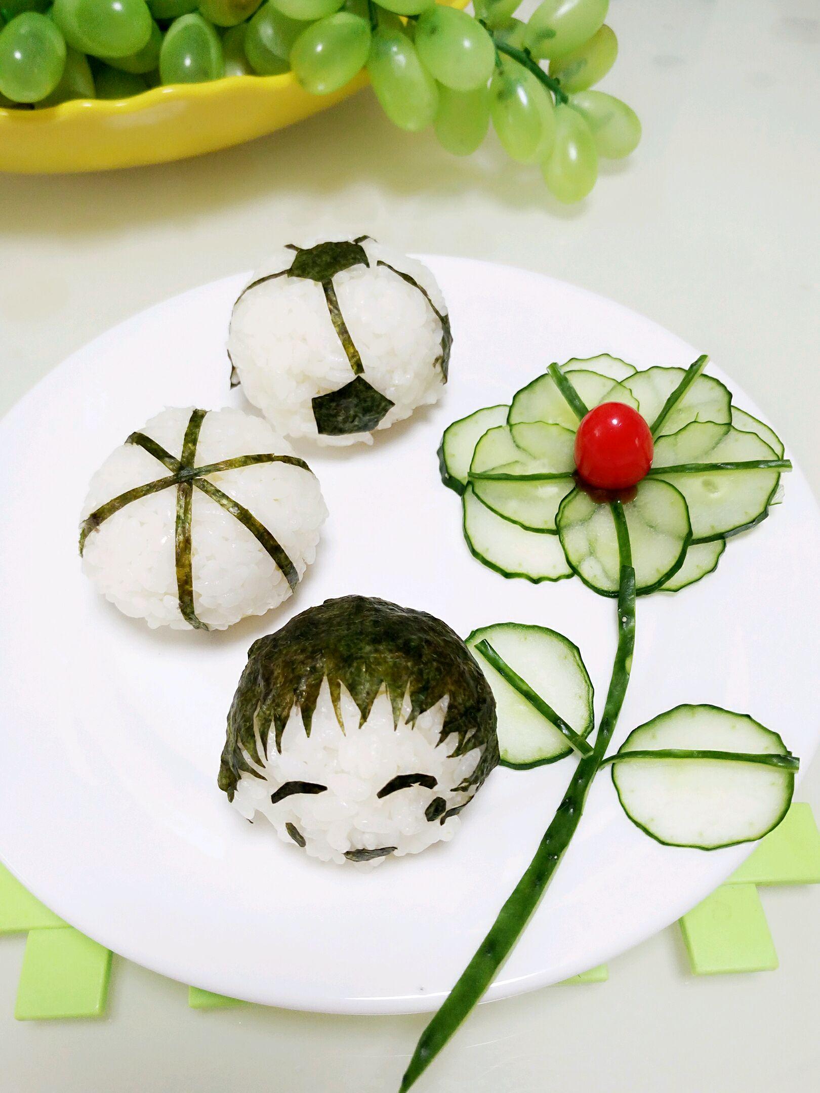 可爱饭团#单挑夏天