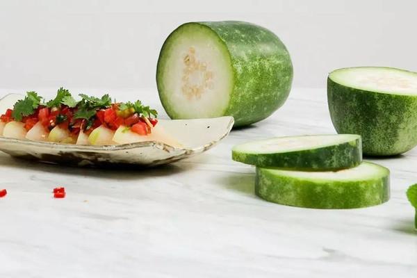 冬瓜两吃:从里到外整个冬瓜不浪费!的做法